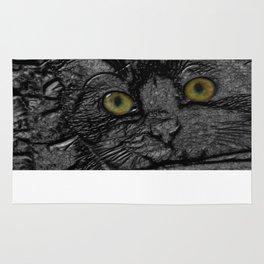 Metal cat Rug
