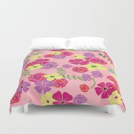 Bonny blooms Duvet Cover