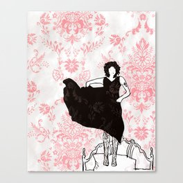 The Riviera Canvas Print