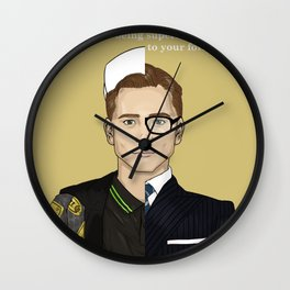 True Nobility - Kingsman Wall Clock