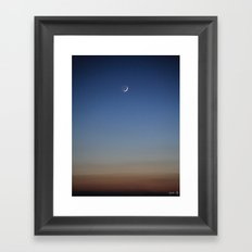 Evening Sky II Framed Art Print