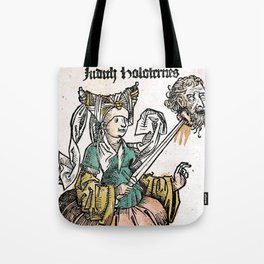 Judith and Holofernes Tote Bag