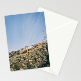 Hollywood Sign Los Angeles Stationery Cards