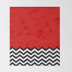 Black Lodge Dreams (Twin Peaks) Throw Blanket