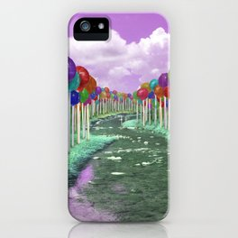 Lollipop Lane iPhone Case