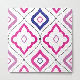 Morocco Tile Metal Print