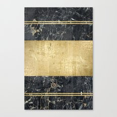 marble in gOld Canvas Print