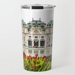 Upper Belvedere Palace, Vienna, Austria Travel Mug