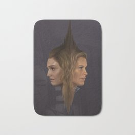 Two Minds, One body Bath Mat