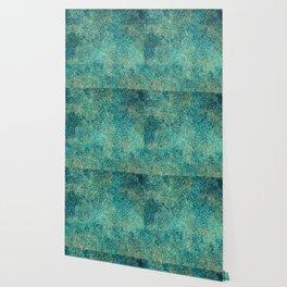 Oxidized Copper Wallpaper