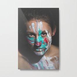 Colors of Women, J.F. Metal Print