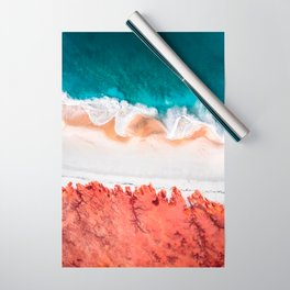 Blue Sea Wrapping Paper