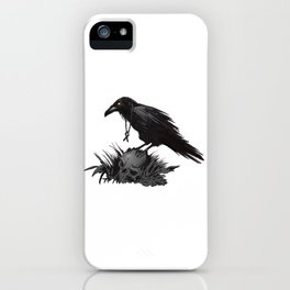 Death Poetry iPhone Case
