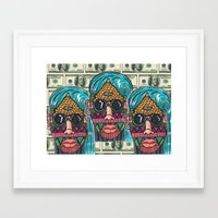 illuminati Framed Art Prints featuring IllUmiNaTi by CREATOROFARTS
