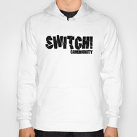 community Hoodies featuring Switch! Community by Nikki Xiao