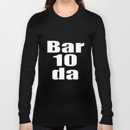 Bartender Bar 10 Da dj T-Shirts Long Sleeve T-shirt