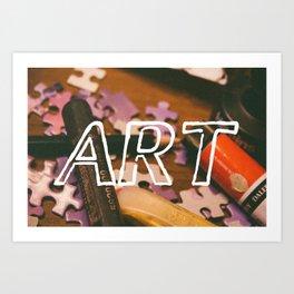 Art Life. Art Print