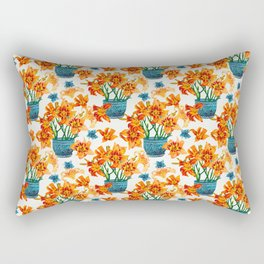 Lily Blossom Rectangular Pillow