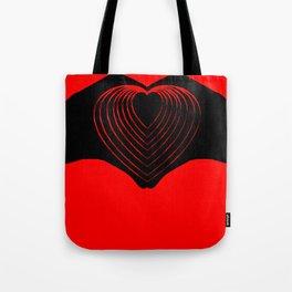 IHU - I heart you! Tote Bag