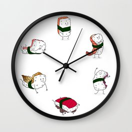 Foods Of The World: Japan (All) Wall Clock