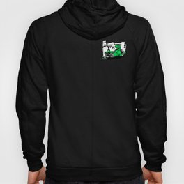 Amphibian DNA - Dienonychus - Black Shirt Hoody