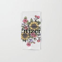 Citizen Floral Art Hand & Bath Towel