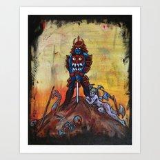 The Bishamon Art Print