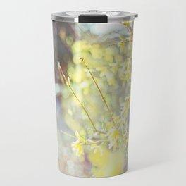 Yellow Forsythia Travel Mug
