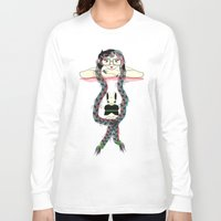 rapunzel Long Sleeve T-shirts featuring Rapunzel by famenxt