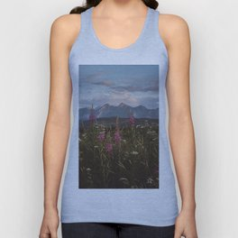 Mountain vibes - Landscape and Nature Photography Unisex Tank Top