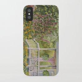 Warren Porch iPhone Case