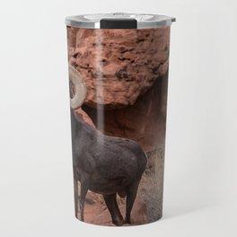 Desert Bighorn, Valley of Fire - III Travel Mug