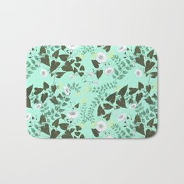 Honeysuckle & Bindweed Bath Mat