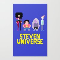 steven universe Canvas Prints featuring Steven Universe by NeleVdM