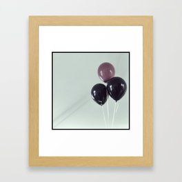 happy you - happy me Framed Art Print