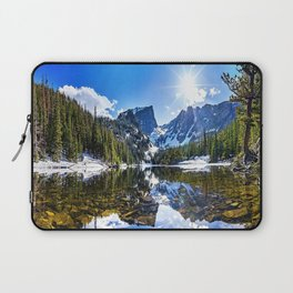 Beautiful Lake in the Mountains Laptop Sleeve