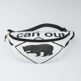 Bears Are Fast Fanny Pack