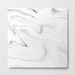 Marble stone texture pattern Metal Print