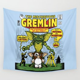 The Mischievous Gremlin Wall Tapestry