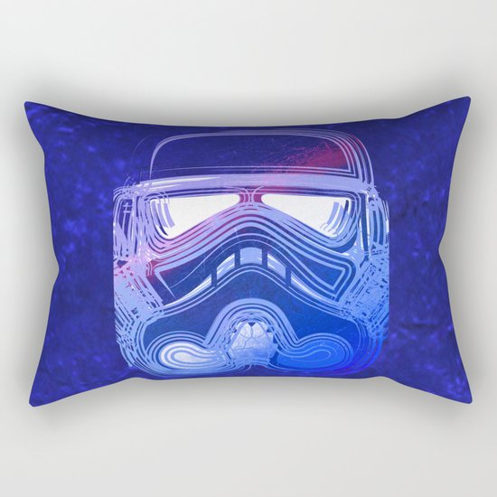 Pop Trooper Rectangular Pillow