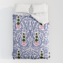 Southern Living - Chinoiserie Pattern Duvet Cover