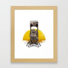 Buddha Funk Framed Art Print