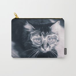 Kitty with sunglasses Carry-All Pouch