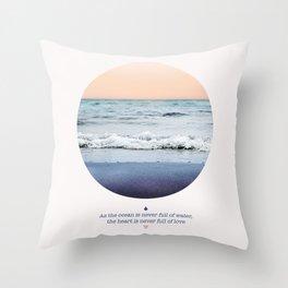 LAVA LOVE Throw Pillow
