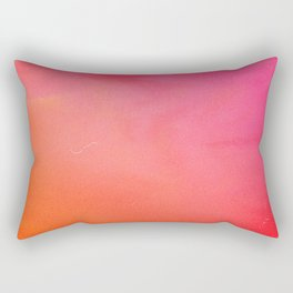 PinkOrange Gradient Rectangular Pillow