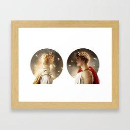 One kingdom Framed Art Print