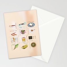Japanese Food Stationery Cards