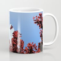 lungs Mugs featuring Lungs by Keka Delso