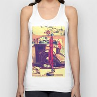 boat Tank Tops featuring boat by gzm_guvenc