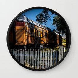 The Virgina/Nevada City line Wall Clock